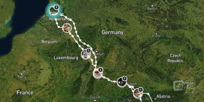 Route | Italië, herfst 2017